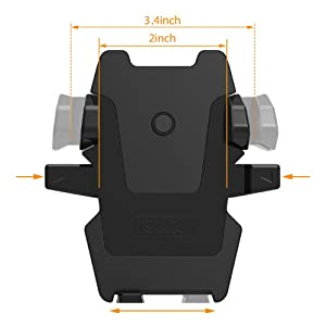 iOttie Easy One Touch 2 Car Mount Universal Phone Holder for iPhone X 8/8 Plus 7 7 Plus 6s Plus 6s 6 SE Samsung Galaxy S9 S9 Plus S8 Plus S8 Edge S7 S6 Note 8 5