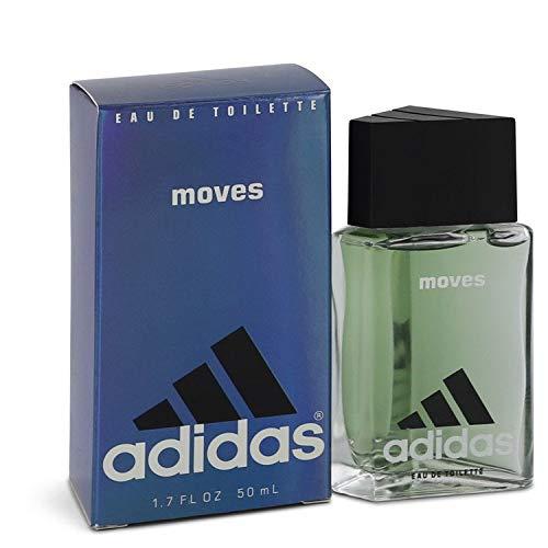 Adidas Moves Eau De Toilette Spray For Men, 1.7 Ounce