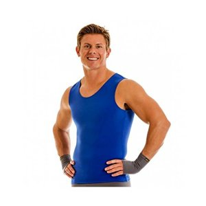 Insta Slim Muscle Tank Men's Firming Compression Under Shirt 1 Fashion Online Shop Gifts for her Gifts for him womens full figure