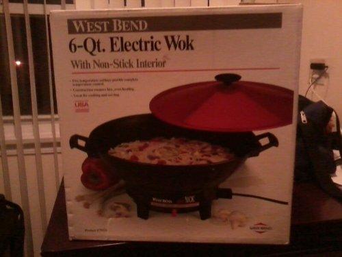 West Bend 6 Quart Electric Wok
