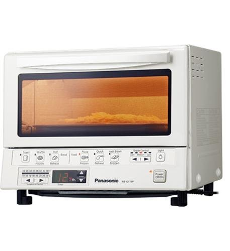 Panasonic Flash Xpress Toaster Oven in White