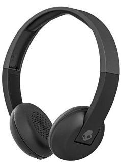 Skullcandy Uproar Wireless On-Ear Headphone with Mic (Black)