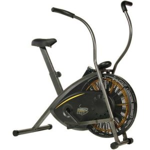 f4dfde9663 Air Resistance Exercise Bike with Tension Knob Adjusts Pedal Resistance