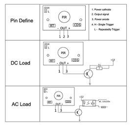 Stemedu-HC-SR501-PIR-Sensor-Infrared-IR-Body-Motion-Module-for-Arduino-Raspberry-PiPack-of-5pcs