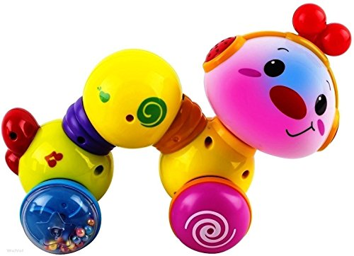 WolVol Musical Press and Crawl Baby Activity Toy