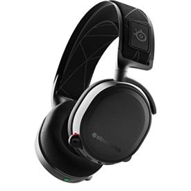 SteelSeries Arctis 7 - Lossless Wireless Gaming Headset with DTS Headphone:X v2.0 Surround - For PC and PlayStation 4 - Black