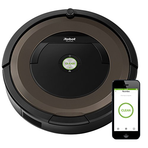 iRobot Roomba 890 Robot Vacuum Cleaner with Wi-Fi Connectivity, Works with Alexa, Ideal for Pet Hair, Carpets, & Hard Floor Surfaces