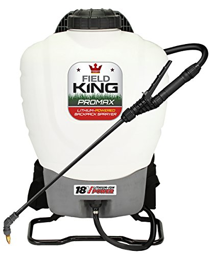 Field King 190515 Professionals Battery Powered Backpack Sprayer