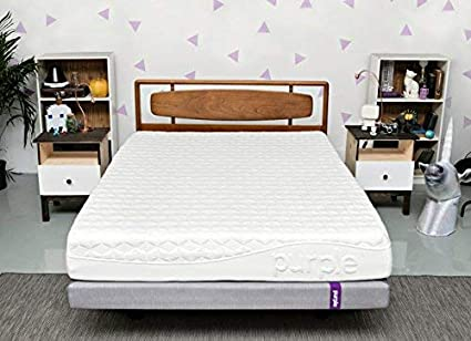 Purple Queen Mattress Hyper Elastic Polymer Bed Supports Your Back Like A Firm Mattress