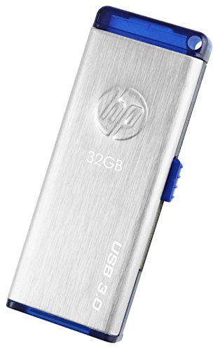 HP x730w USB 3.0 32GB Flash Drive (Gray) 258
