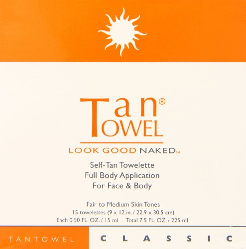 419C7Of8XBL The formula is non-streaking and easy to apply The pulp fiber novelette exfoliates the skin during application and allows for a more even tan It has a clean, citrus fragrance that dissipates within 5 minutes