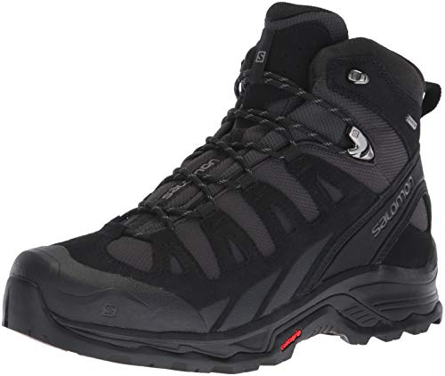 Salomon Men's Quest Prime GTX Backpacking Boot, Phantom/Black/Quiet Shade, 9.5 M US