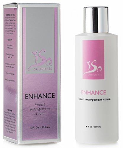 IsoSensuals ENHANCE | Breast Enlargement Cream - 1 Bottle | 2 Month Supply