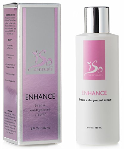 IsoSensuals ENHANCE | Breast Enlargement Cream - 1 Bottle | 2 Month Supply