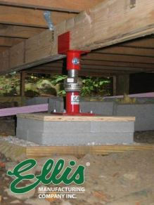 Ellis Manufacturing Company - Light Duty Steel Lifting Shores