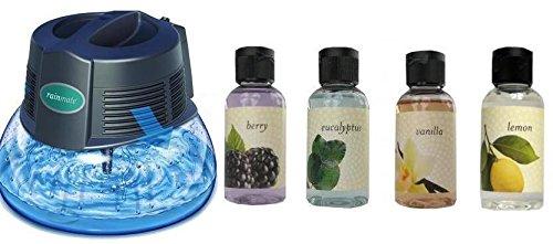 New Rainbow Rainmate IL Air Freshener Purifier Room Aromatizer w/ 4 Fragrances