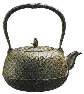Iron kettle Fu type pine needle tea 1.5L IH correspondence / gas support