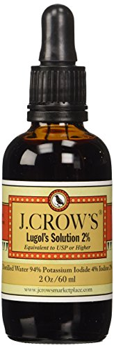 J.Crow's Lugol's Iodine Solution