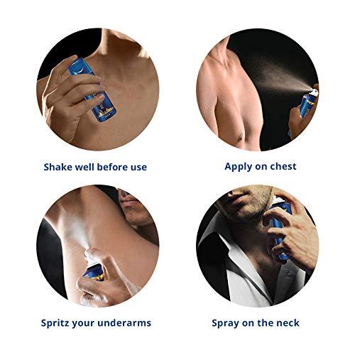 419KiJ3w oL Park Avenue Good Morning Body Deodorant For Men, 100g