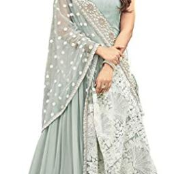 Royal Export Women's georgette anarkali Salwar Suit Set