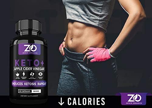 Keto Diet Weight Loss Pills w/Apple Cider Vinegar Capsules, Fat Burner Appetite Suppressant for Women Men with Keto BHB - Works Faster Than ACV Gummies, Exogenous Ketones Carb Blocker, Burn Belly Fat 8