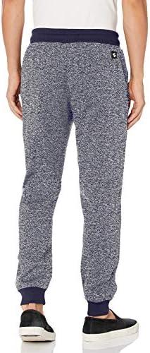Southpole Men's Basic Fleece Marled Jogger Pant-Reg and Big & Tall Sizes 3