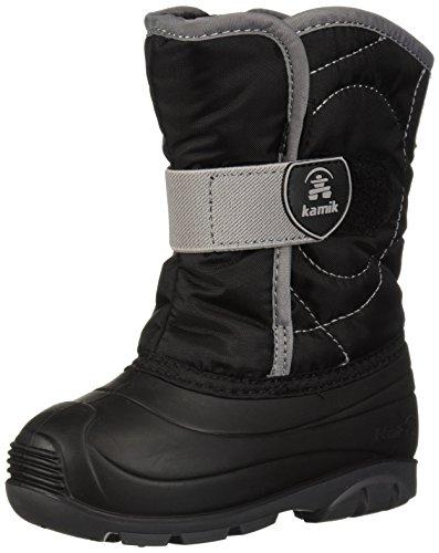 Kamik Unisex Baby SNOWBUG3 Snow Boot, Black, 10 Medium US Toddler