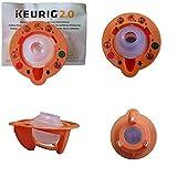 Keurig 4335457458 B01MXFTW88 2.0 Needle Cleaning Tool, kkk Orange