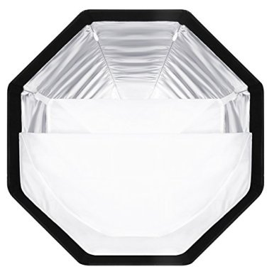 Neewer-26-inches65-centimeters-Octagonal-Softbox-with-S-type-Bracket-MountCarrying-Case-for-Canon-Nikon-TT560-NW561-NW562-NW565-NW620-NW630-NW680-NW670-750II-NW910-NW880-Flash-Speedlites