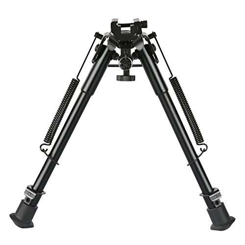 CVLIFE 9-13 Inches Rifle Bipod with Solid Sling...