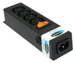 Conntek 55705 Power Strip 250 Volt 7-1/2-Inch Housing IEC C14 Inlet to 4 IEC 60320 C13 Receptacles Sheet F Computer/Server