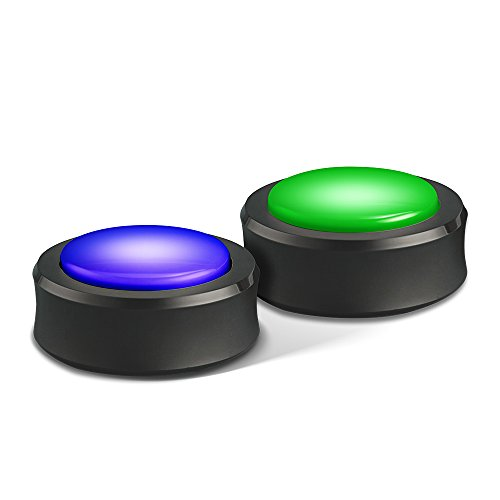 Echo Buttons (2 buttons per pack) - A fun companion for your Echo