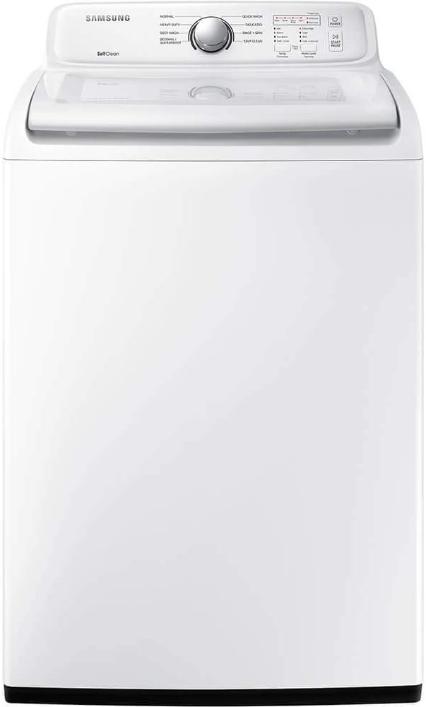 Amazon Com Samsung 4 5 Cu Ft White Top Load Washer Appliances