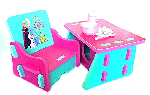 Disney Frozen Foam Table and Chair Set