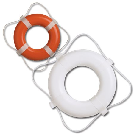 Amazon.com : USCG Approved Foam Life Ring Our throwable ring for safety.