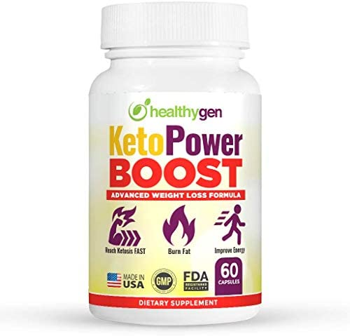 HEALTHYGEN KetoPower Boost Premium Keto Diet Pills - Boost Ketosis and Use Fat for Energy - Boost Energy & Focus, Manage Cravings, Support Metabolism - Keto BHB Supplement for Women and Men 3