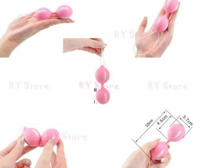 Pink Color Shape Up Training Weighted Ben Wa Benwa Ben Wa Smart Duotone Vaginal Tightening Kegal Exercise Vibration Ball Balls With String New Fitness