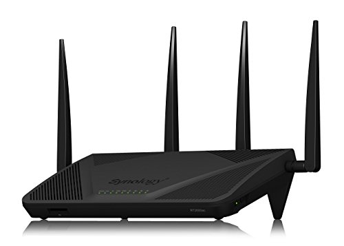 Synology RT2600ac – 4x4 Dual-Band Gigabit Wi-Fi Router, MU-MIMO, Powerful Parental Controls, Threat Prevention, Bandwidth Management, VPN, Expandable Coverage with mesh Wi-Fi