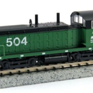 Kato USA Model Train Products EMD NW2 #504 Burlington Northern N Scale Train 419o81hPCzL