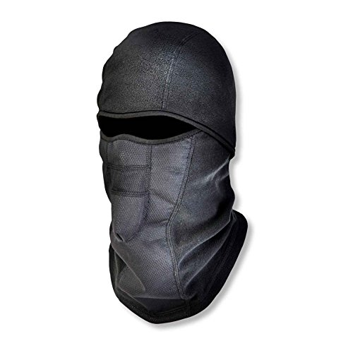 Ergodyne N-Ferno 6823 Winter Balaclava Ski Mask, Wind-Resistant Face Mask, Thermal Fleece, Black