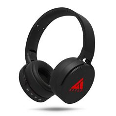 Boult Audio ProBass Q Over-Ear Wireless Bluetooth Headphones with Noise Cancellation, in-Built Mic & Deep Bass, Dual Mode Headset with Long Battery Life (Black)