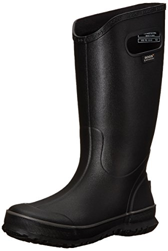 Bogs Men's RAIN Boot-M, Black, 7 M US