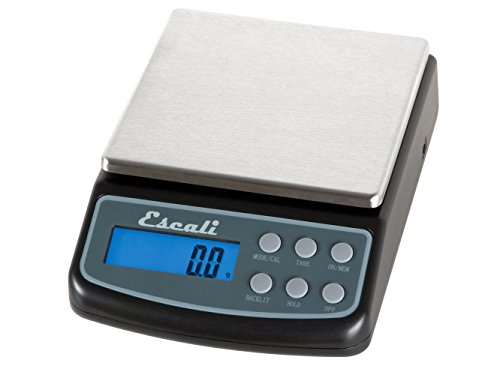 Escali L600 L-Series High Precision Professional Lab Scale, Six Units of Measurements, Capacity 600 gram / Resolution 0.01 gram, Tare Feature, LCD Digital Display, Black