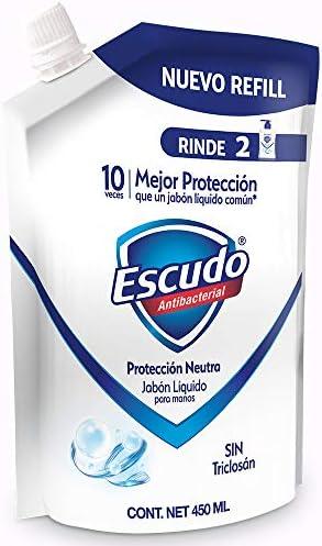 41A2iA4t4CL. AC  - Escudo Jabón Líquido Refill para Manos, 450 ml #Amazon