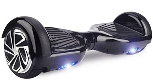WorryFree Gadgets UL2272 Certified Smart Self Balancing Hoverboard Personal Adult Transporter with LED Light