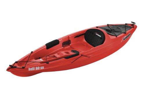 Sun Dolphin Bali SS Sit-on top Kayak (Red, 10-Feet)