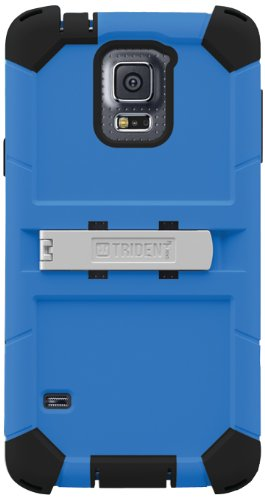 Trident Kraken AMS Series Case for Samsung Galaxy S5 - Retail Packaging - Blue
