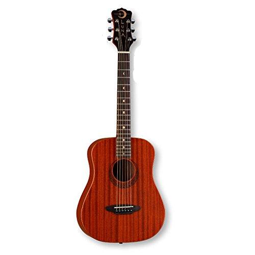 Luna Safari Series Muse Mahogany 3/4-Size Travel Acoustic Guitar - Natural