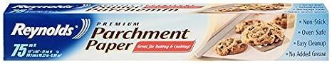 Reynolds Premium Parchment Paper (Non-Stick, 75 Square Foot Roll)