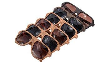 a2dc8ba87e2 SHINU Wood Sunglasses Oversized Eyeglasses Wood Frame Polarized Sunglasses-  Z6043